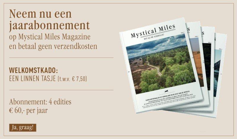 Mystical Miles jaarabonenment